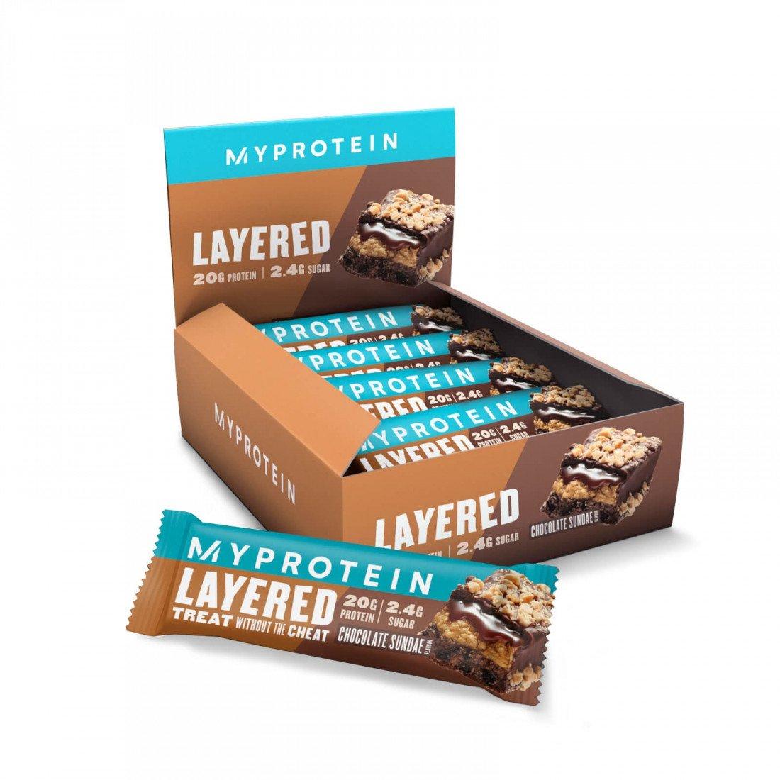 Новая линейка протеиновых батончиков от myprotein - 6 layer bar