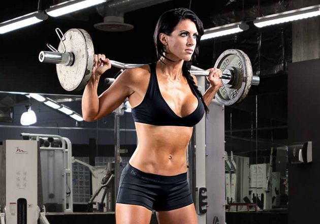 Amanda latona - greatest physiques
