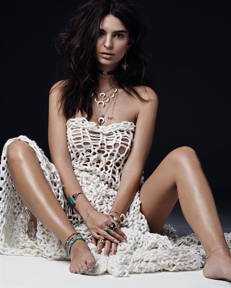 Эмили ратажковски «слишком красивая». секреты красоты модели.