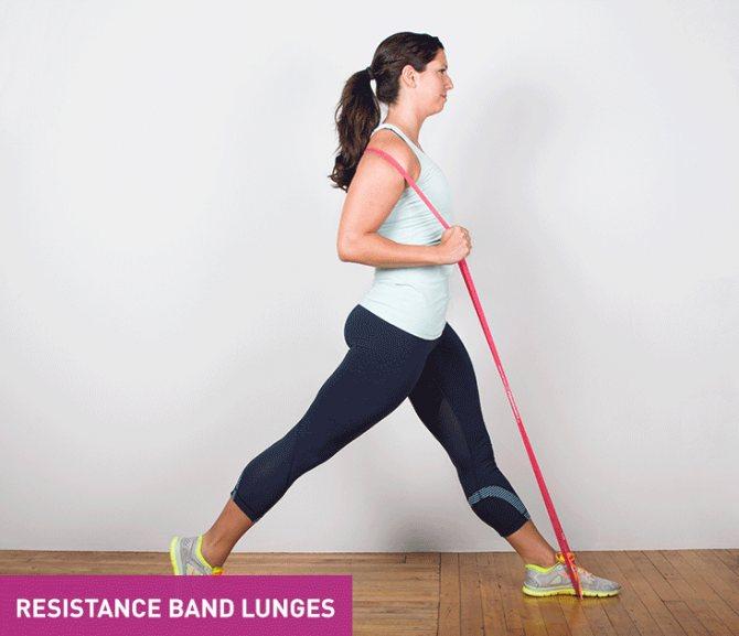 Упражнения с трубчатым эспандером для женщин и мужчин - школа тела