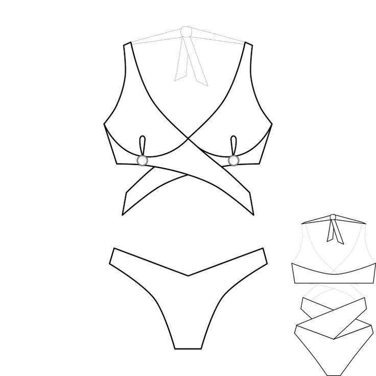 Как сшить купальник для фитнес бикини своими руками: выкройки, мастер класс