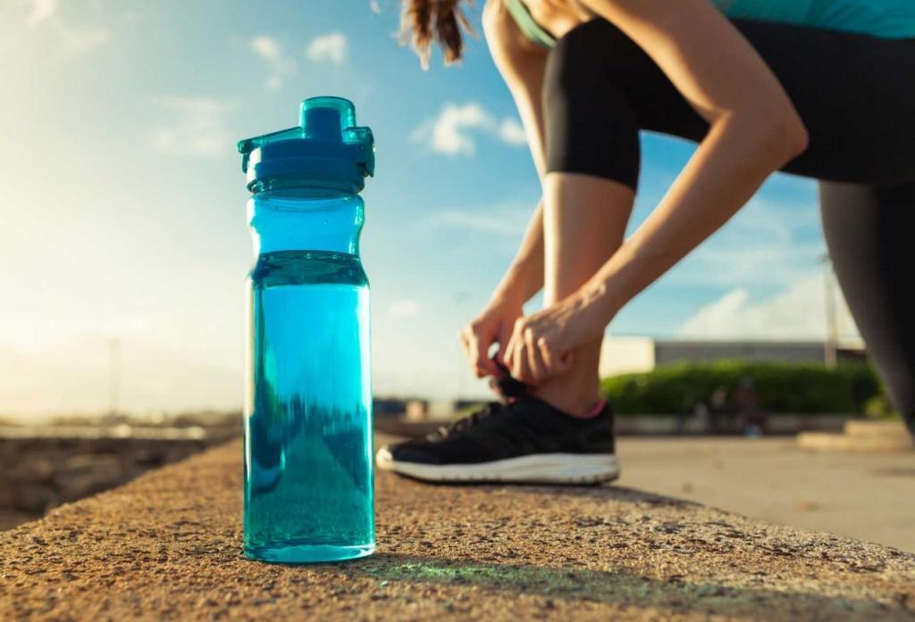 Почему нужно пить воду до, во время и после тренировки?