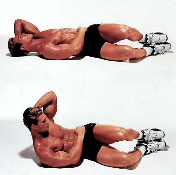 Упражнение «боковое скручивание» на пресс: техника выполнения