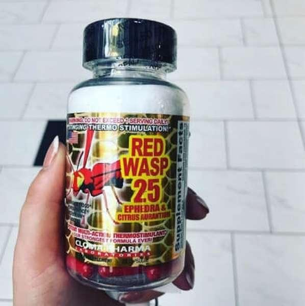 Red wasp 25 жиросжигатель - как принимать? состав, отзывы, цена