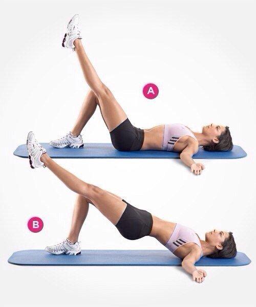 Как накачать ягодицы (попу): упражнения и программа тренировок