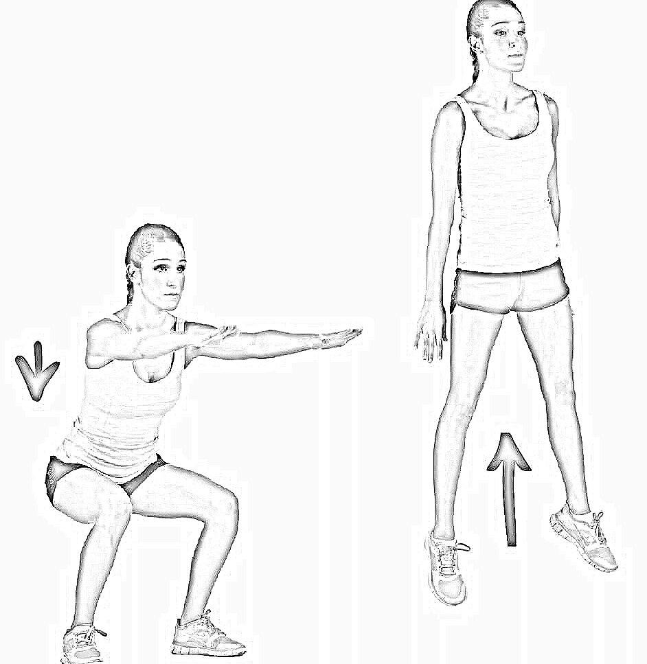 Упражнения для развития прыгучести (air alert 3)
