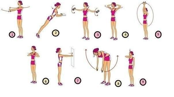 Как увеличить грудь с помощью упражнений девушке и возможно ли это сделать