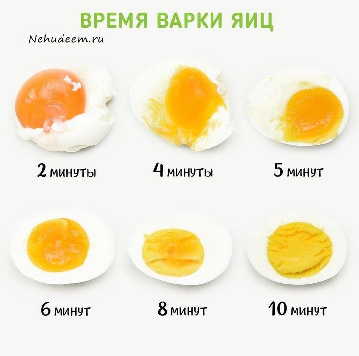 Как варить яйца всмятку и как варить яйца вкрутую