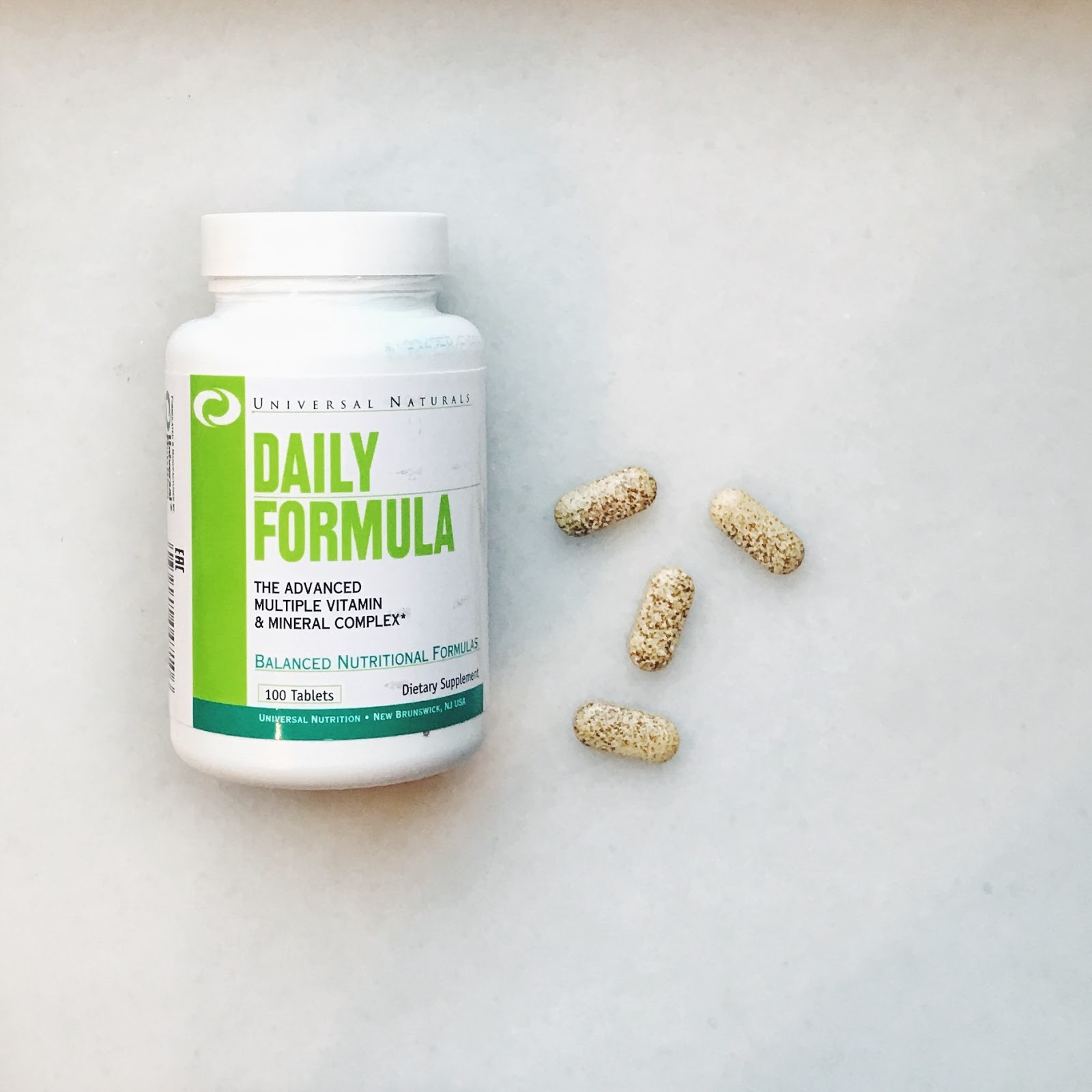 Витамины daily formula universal nutrition отзывы