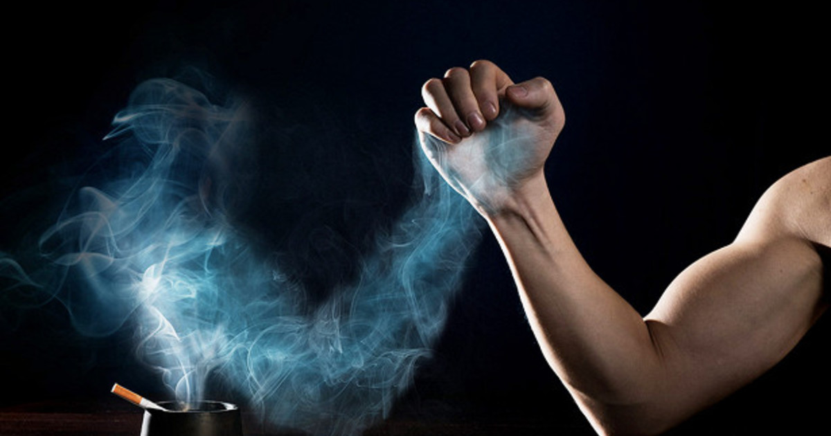 Совместимость курения и набора мышечной массы