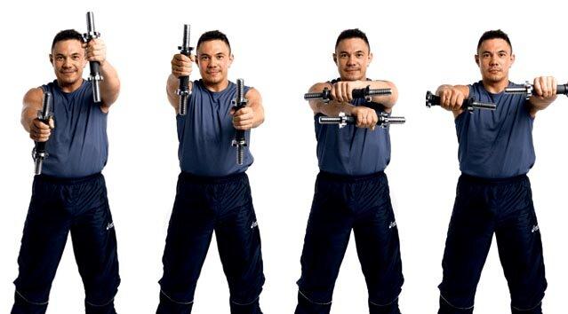 Как увеличить силу удара кулаком, упражнения для увеличения силы удара