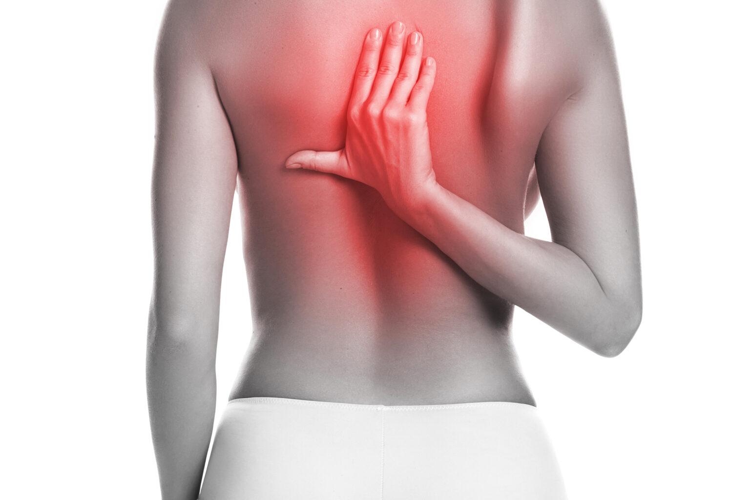 Боль в спине между лопатками: причины, характер боли, диагностика, лечение, профилактика