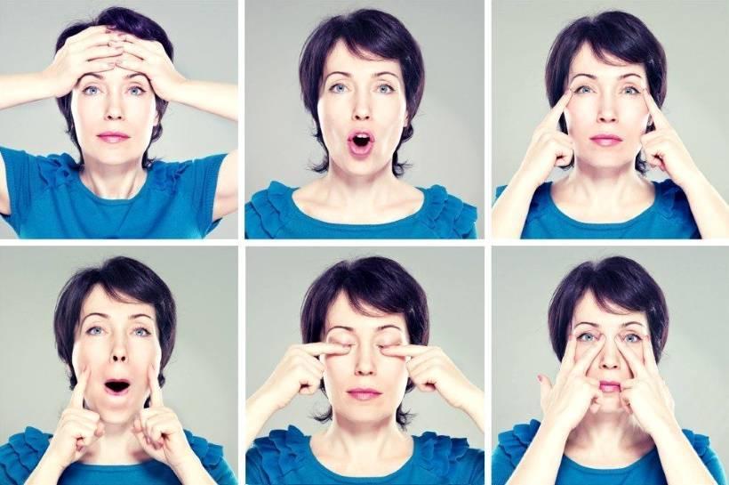 5 базовых упражнений для похудения лица и щек в домашних условиях