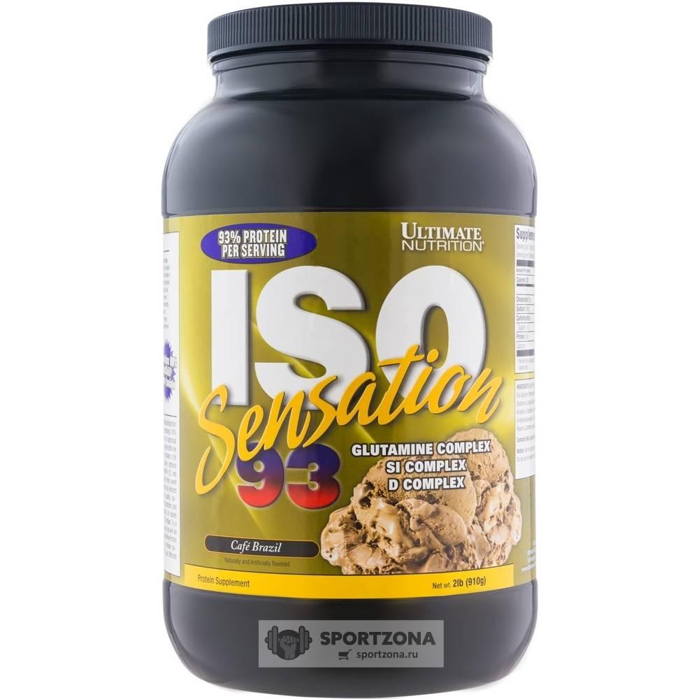 Протеин ultimate iso-sensation 93
