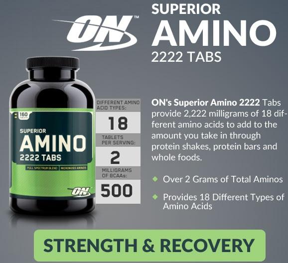 Аминокислоты superior amino 2222: виды, состав и схема приема