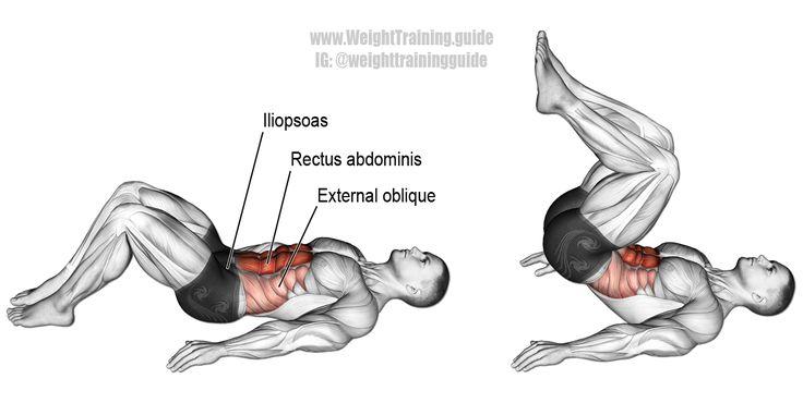 Обратные скручивания: супер упражнение для низа пресса - сайт о лечебной физической культуре
