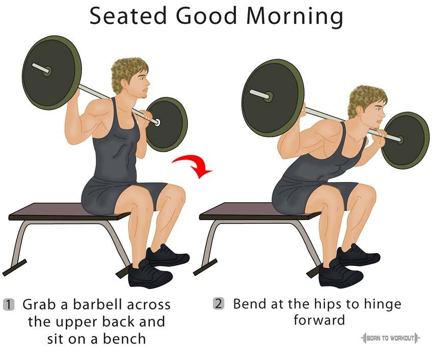 """""""доброе утро"""" - упражнение для ягодиц и поясницы"""