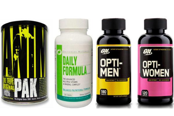 Спортивное питание лучшие комплексы витаминов и минералов для женщин и мужчин, рейтинг