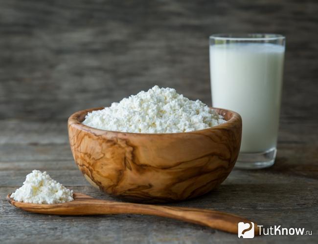 Жирный творог: пищевая ценность, калорийность, польза и вред - tony.ru