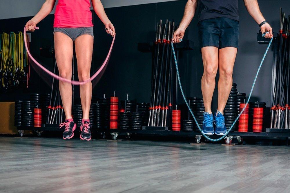 Прыжки на скакалке какие мышцы работают, что тренирует и какие мышцы задействованы при скакалке, что качает, работа ягодиц и пресса