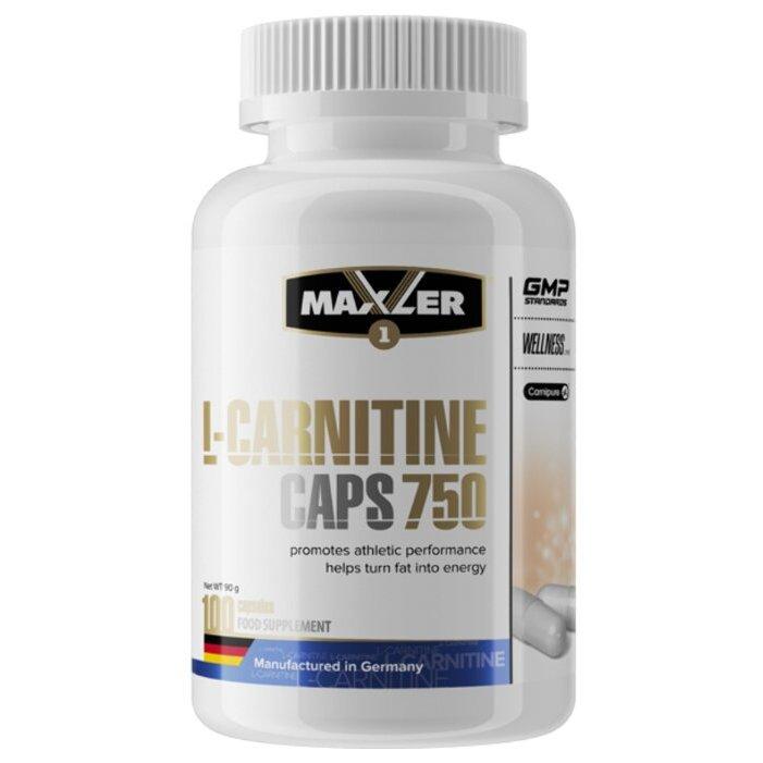 L-carnitine caps 750 от maxler: как принимать, отзывы