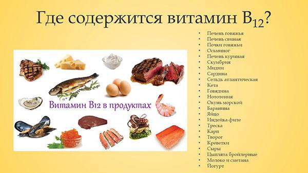 Витамин в1 в продуктах питания – пища, богатая тиамином