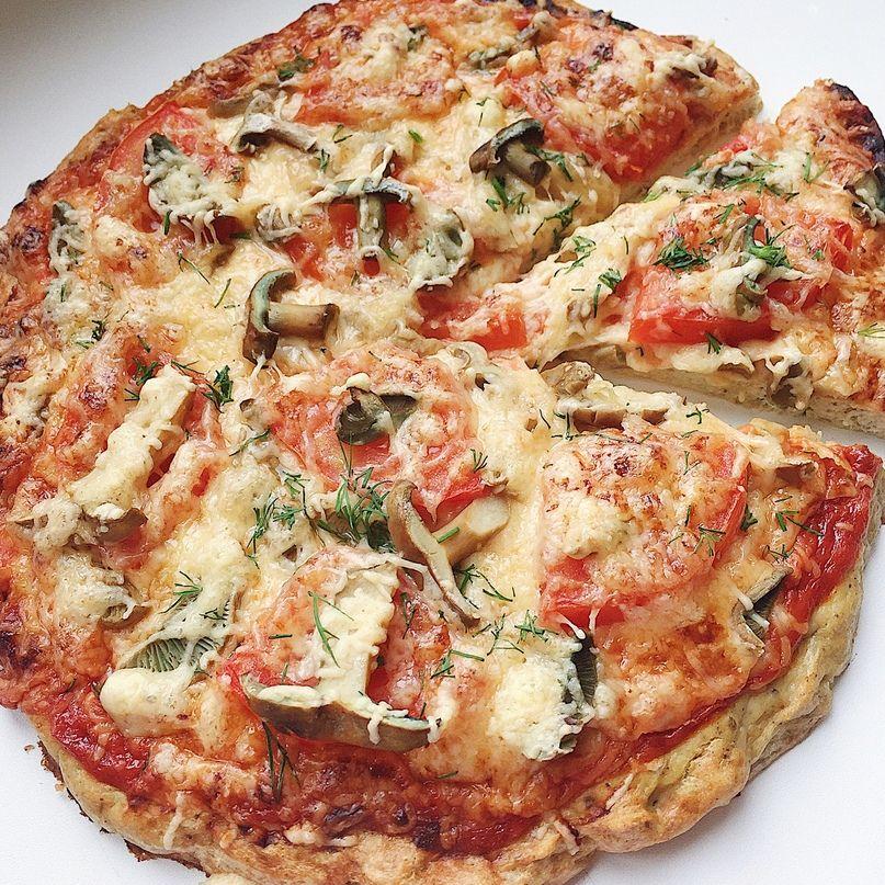 Пп пицца на сковороде, в духовке, мультиварке: лучшие 12 рецептов, инструкция, фото