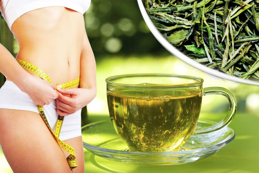 О зеленом чае для похудения: как помогает и можно ли его пить на ночь
