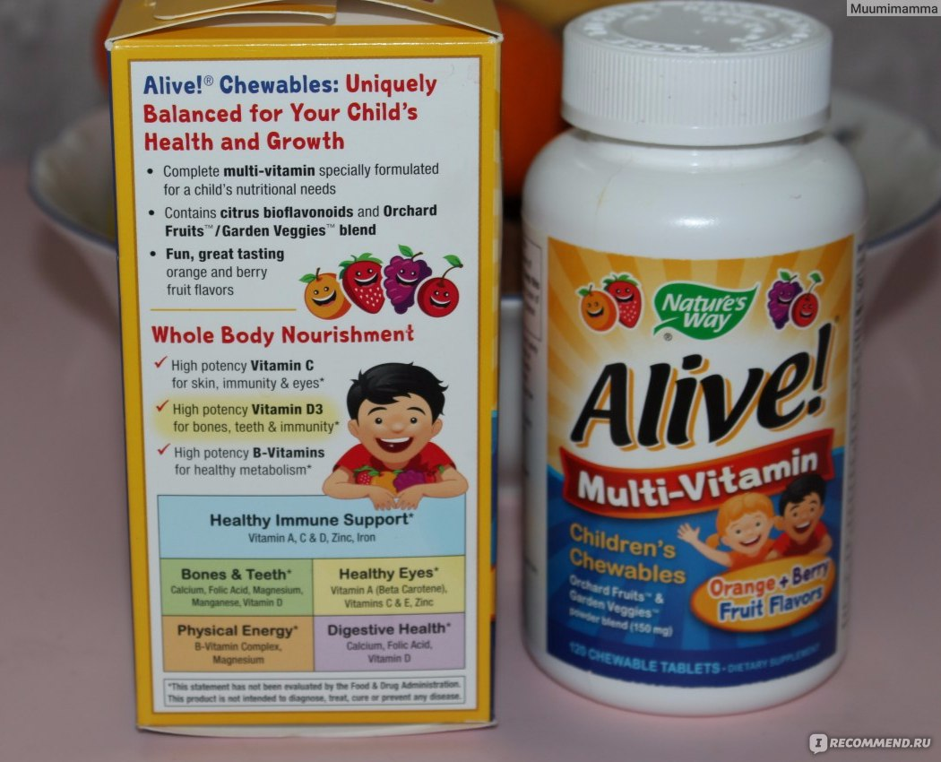 20 лучших витаминов