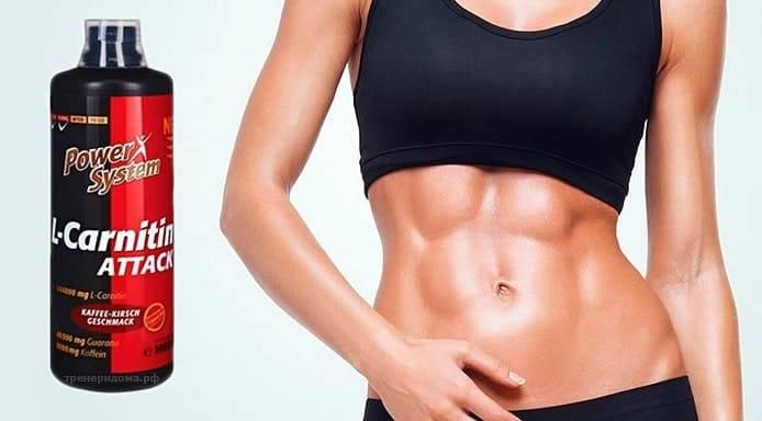 Карнитин – инструкция по применению для похудения: эффект от приема препарата