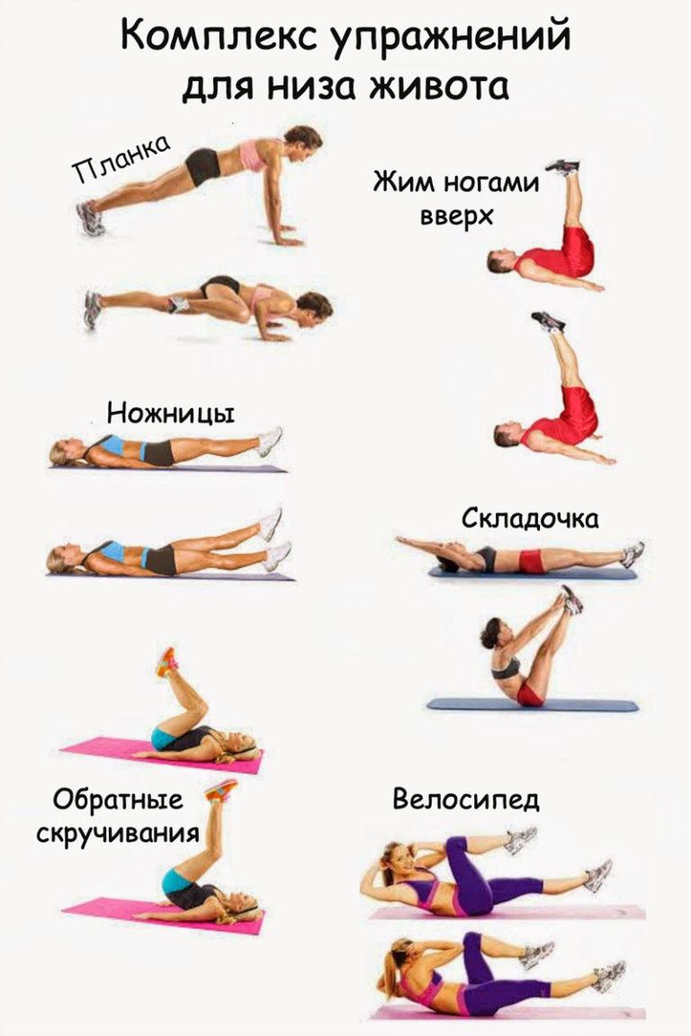 Как накачать нижний пресс живота - питание, упражнения