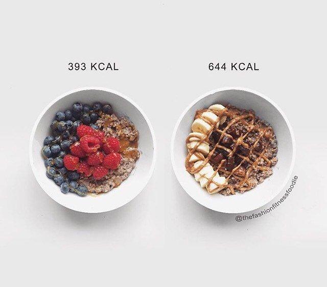 Неожиданные привычные блюда и продукты, а также пища и еда, в которых высокая калорийность