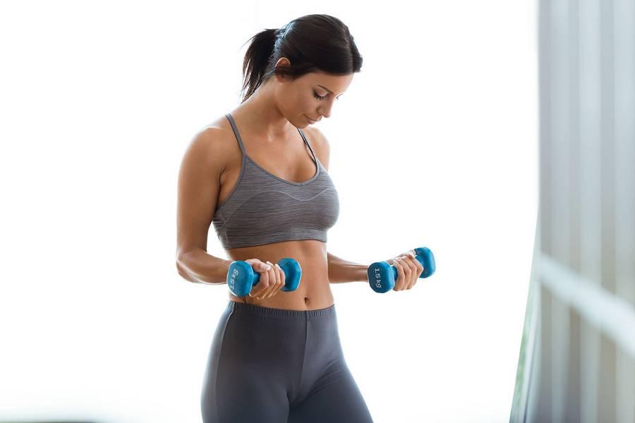 Программа тренировок для девушек на массу: набираем «правильный» вес
