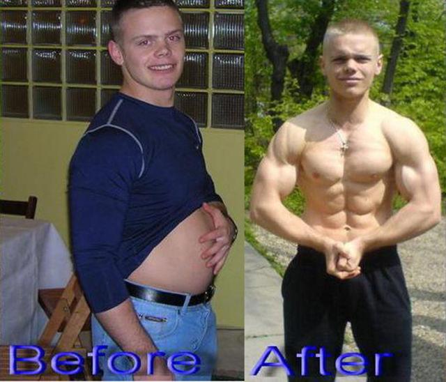 Кому проще накачаться толстому или худому