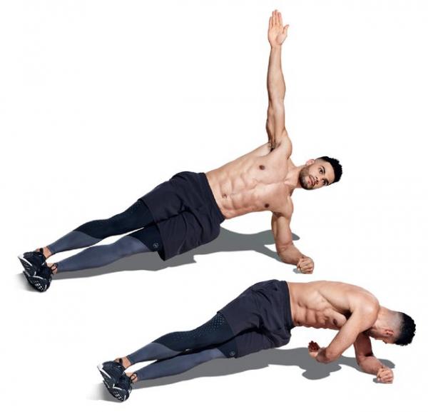 5 статических упражнений для развития мышц кора