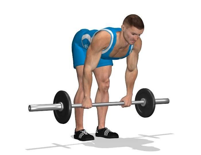 Мёртвая тяга со штангой: техника выполнения! супер упражнение