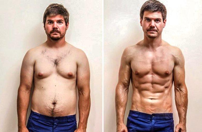 Можно ли одновременно худеть и набирать мышечную массу? :: как правильно ::  «живи!