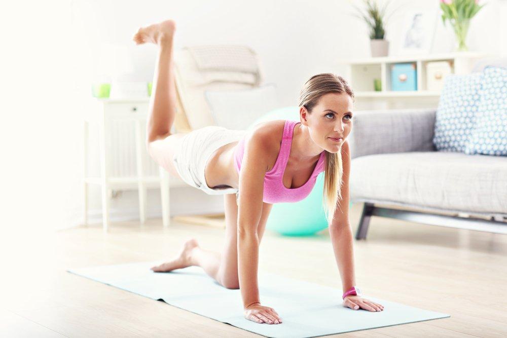 Фитнес дома онлайн - программы, упражнения и советы