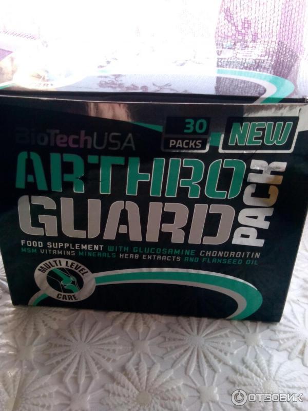 Arthro guard biotech – обзор добавки с хондропротекторами