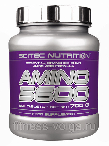 Аминокислотный комплекс scitec nutrition amino 5600 (200 таблеток)