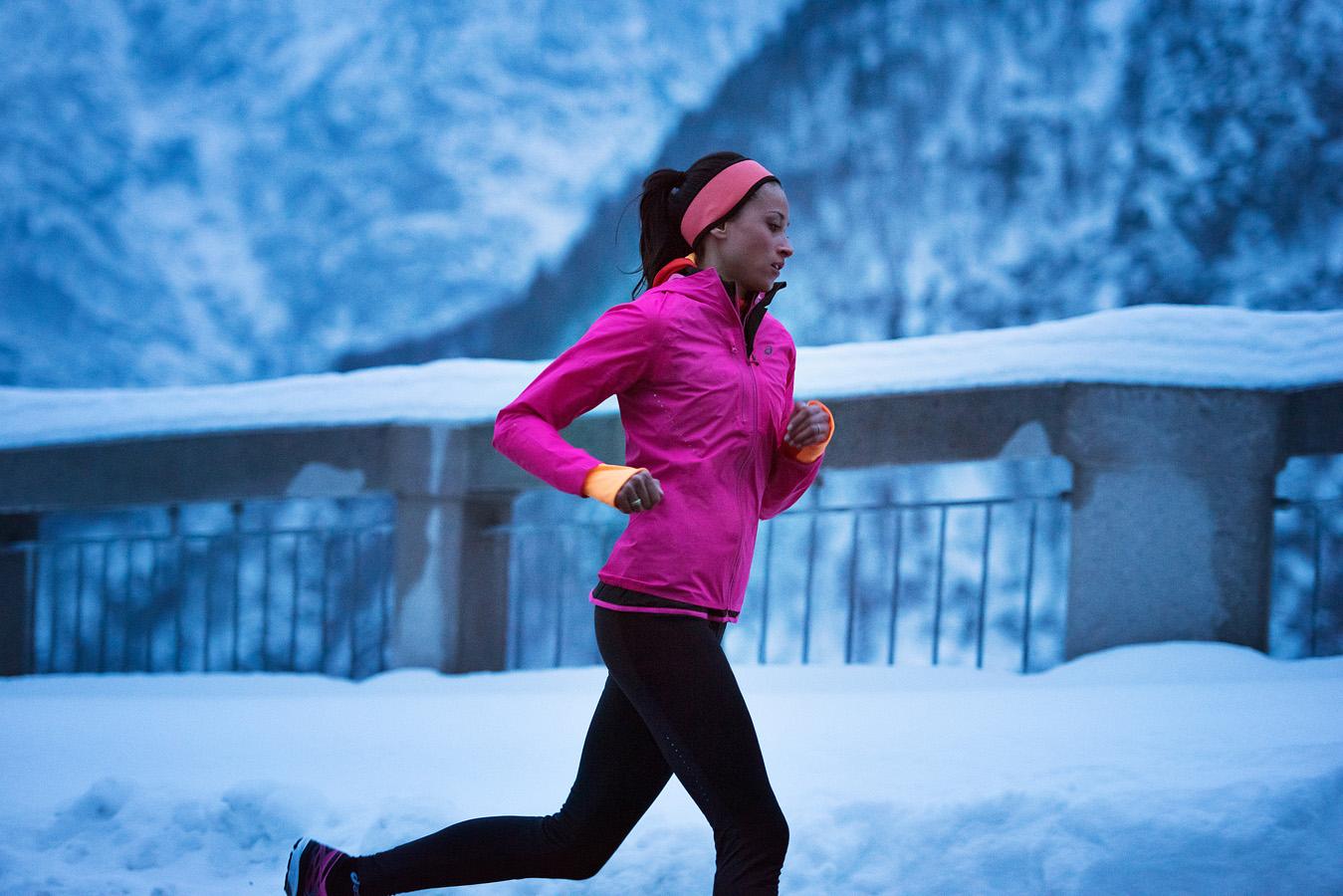 Основные требования к зимней одежде для бега, принцип многослойности