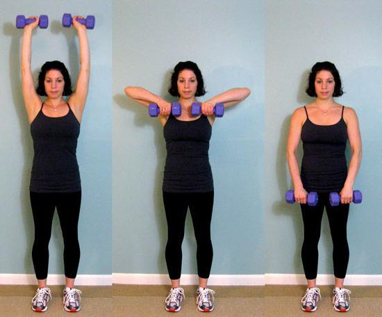 Упражнения в домашних условиях на руки