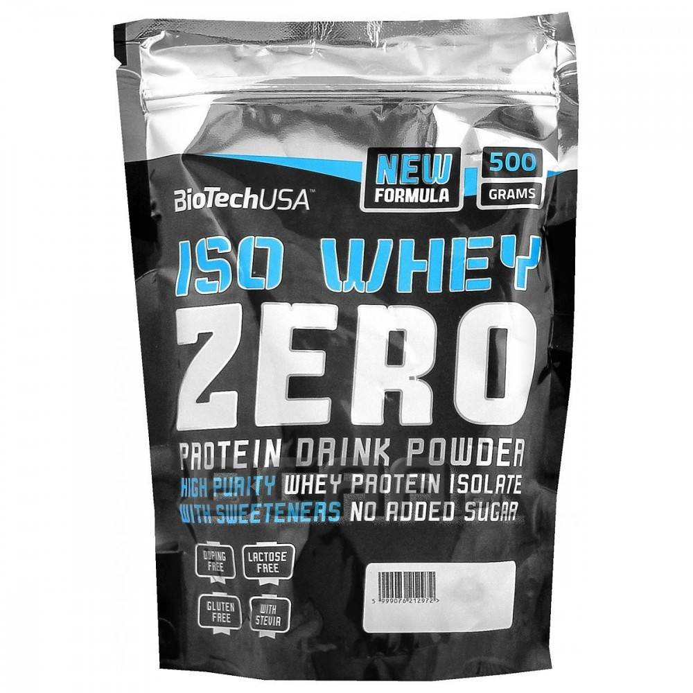 Iso whey zero natural кокус