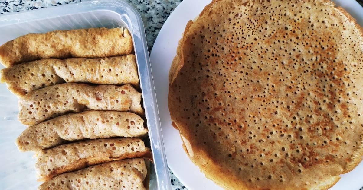 Блины из цельнозерновой муки - рецепт с фотографиями - patee. рецепты