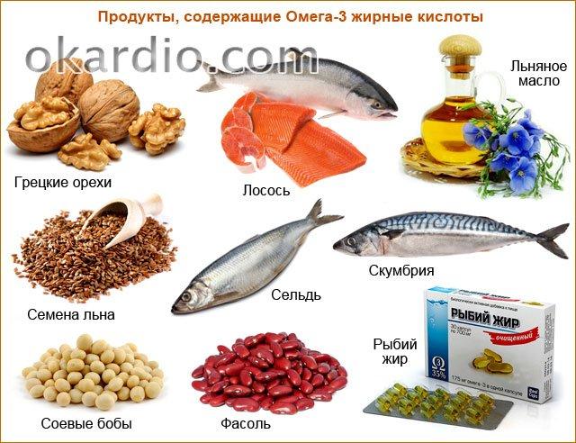 Полиненасыщенные жиры: что это такое и в каких продуктах содержатся