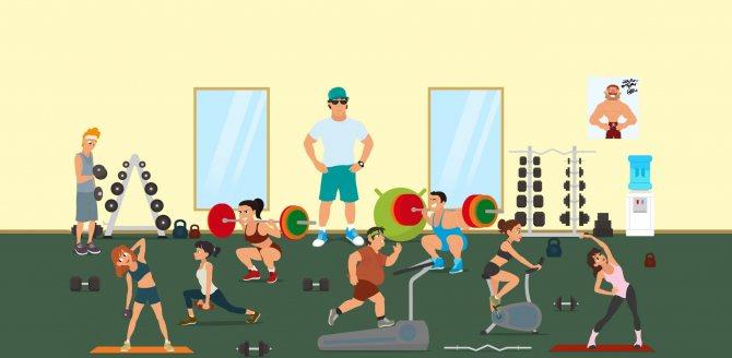 Что выбрать: спортивный зал или домашние тренировки