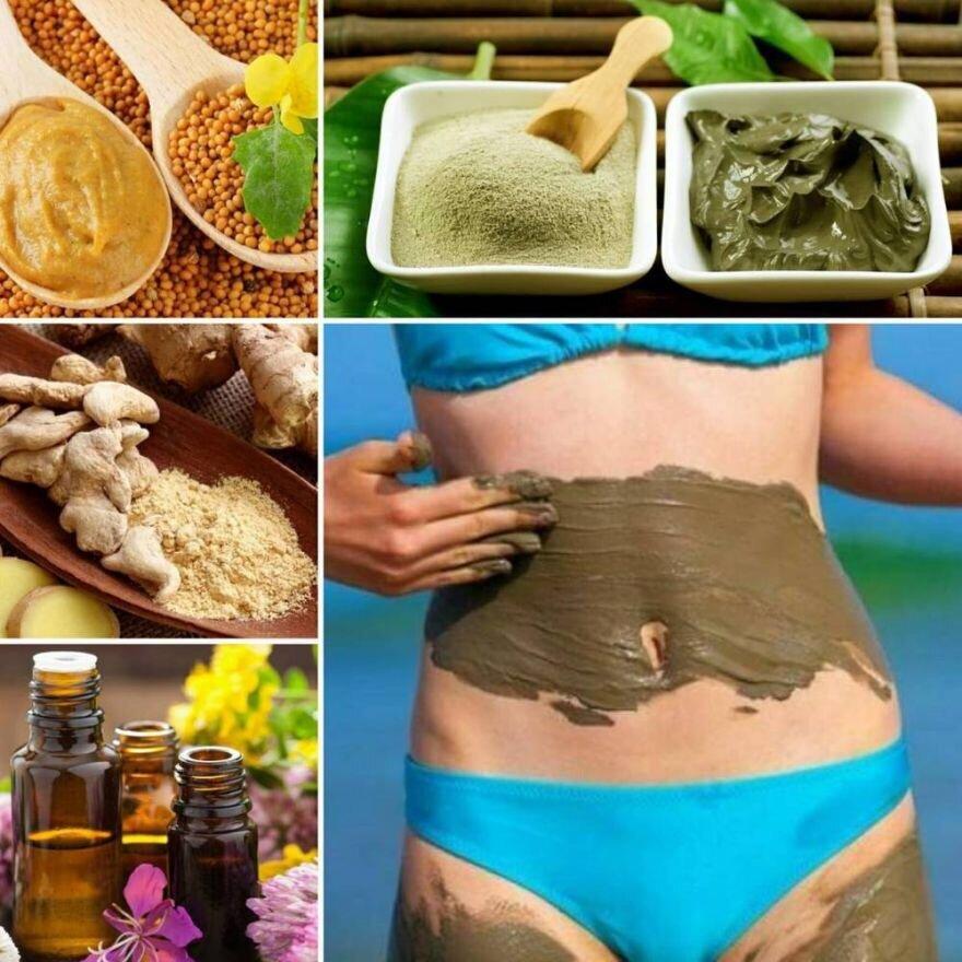 Самые эффективные обертывания для похудения живота