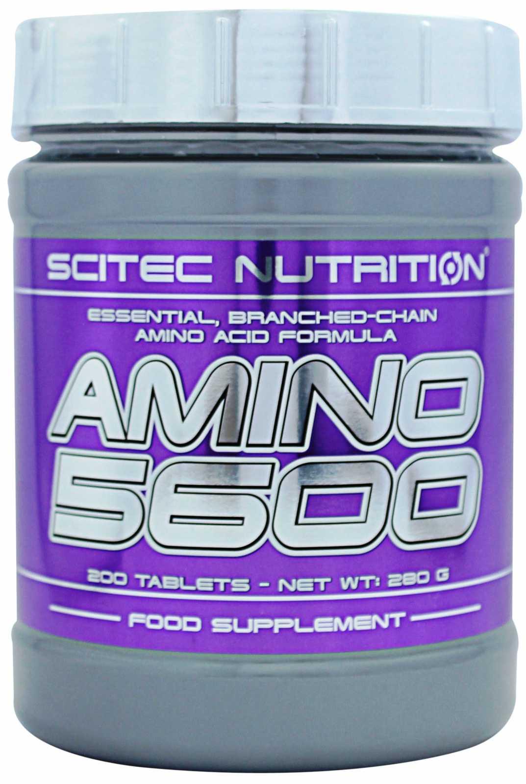 Scitec nutrition amino 5600 (500 таб)