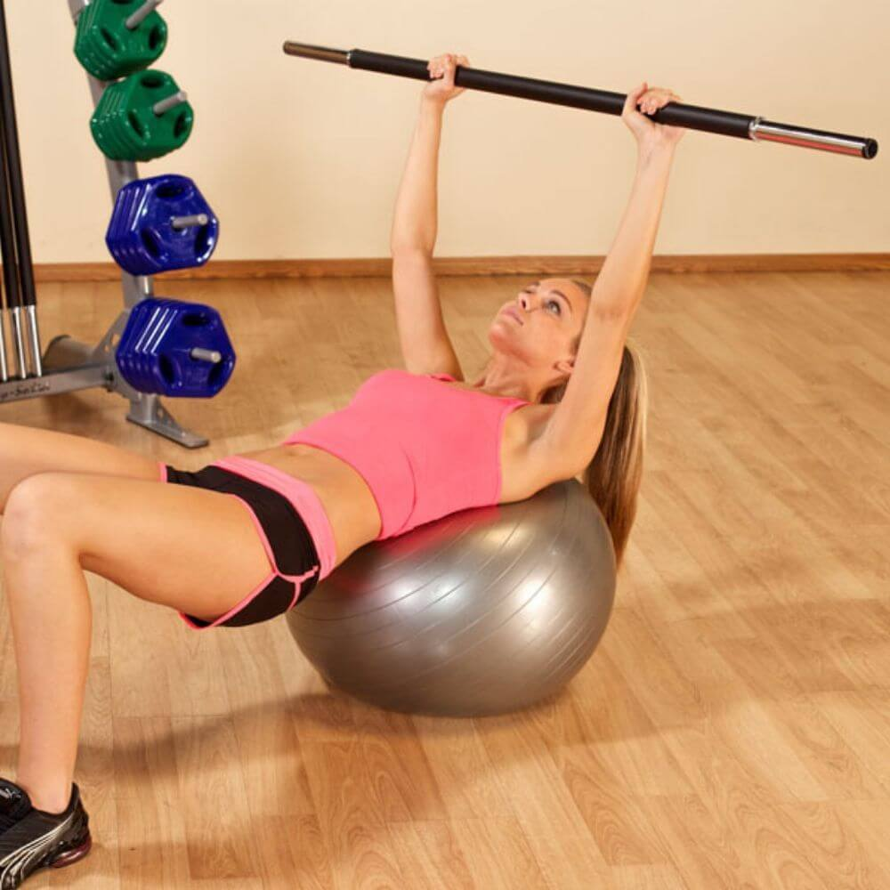 Упражнения с бодибаром для девушек и мужчин