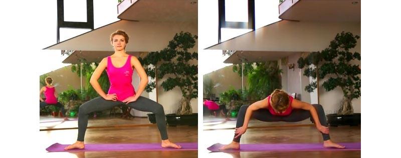 Поперечный шпагат — 15 упражнений на растяжку